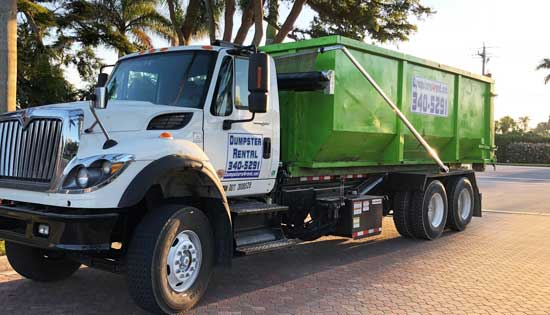 Dumpsters for rent near Fort Myers Florida